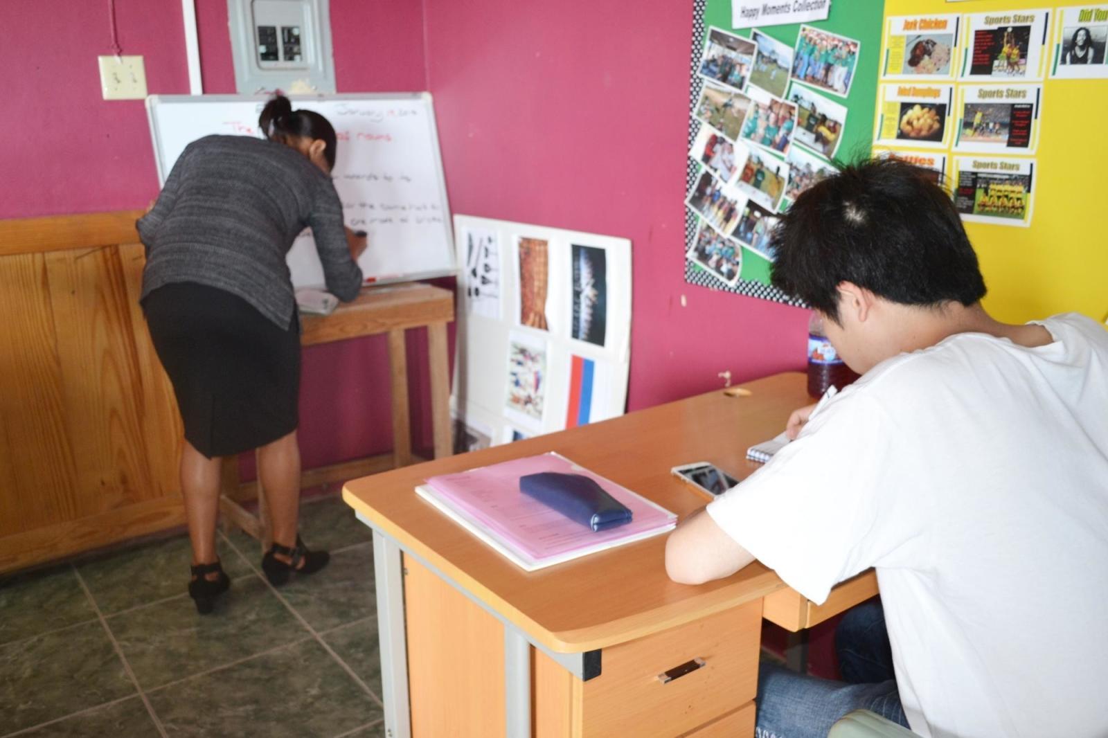 ジャマイカで語学留学中の日本人留学生